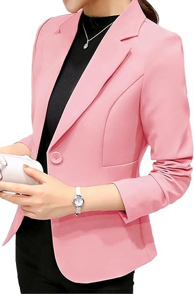 Amazon.com: Blazer Blazer - Chaquetas para mujer: Clothing