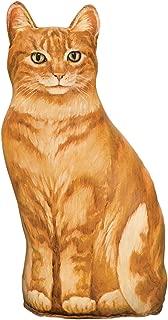 product image for Fiddler's Elbow Ginger Cat Door Stop, Decorative Door Stopper, Interior Ginger Cat Statue, Ginger Cat Lovers