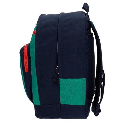 Pepe Jeans Reed Mochila Escolar, 32.38 Litros, Color Verde: Amazon.es: Equipaje