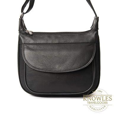 ede753e24eb6 Nova leather 916 tan scoop shoulder  Amazon.co.uk  Shoes   Bags