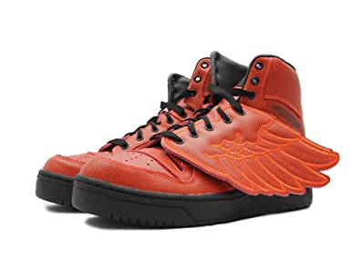official photos ce0c4 81ddf Image Unavailable. Image not available for. Color  adidas Originals Men s Jeremy  Scott Wings ...
