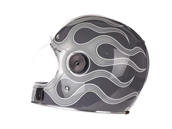 Amazon.es: Bell Bell Powersports 600003-048 - Casco de motocicleta, color Azul (Retro Blau), talla Medium