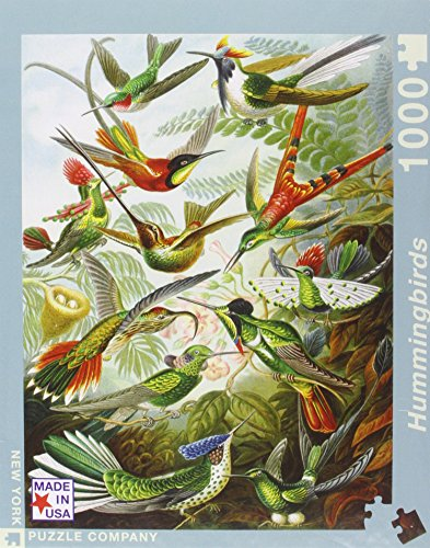 Hummingbirds 1000 Pieces Jigsaw Puzzle product image