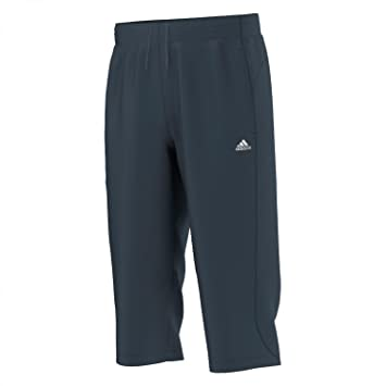2018 shoes hot product look out for adidas Herren 3/4 Hose Essentials Climalite
