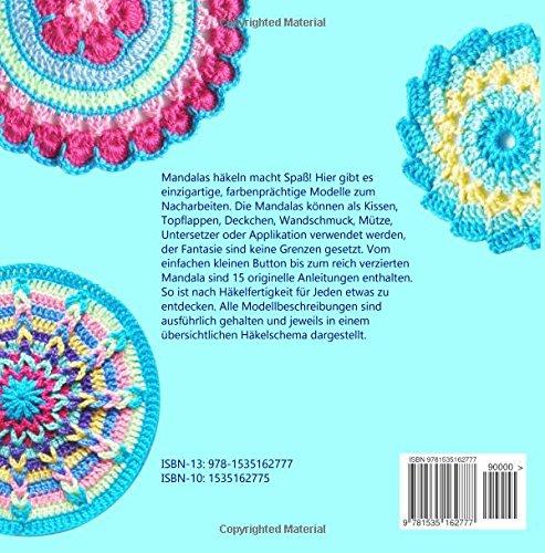 Mandala Häkelspaß Häkelmuster Rund Und Bunt Für Anfänger Und