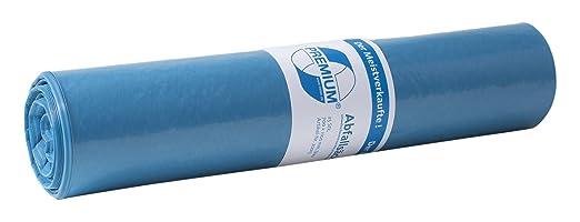 Deiss Premium 10065 Abfallsäcke 700 Mm X 1100 Mm X 0 06 Mm Blau 15 Er Pack Amazon De Gewerbe Industrie Wissenschaft