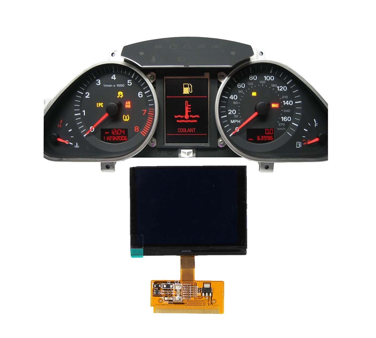 New by XtremeAmazing Instrument Cluster LCD Display For Audi A3 A4 A6 S4 B5 VW Volkswagen Sharan