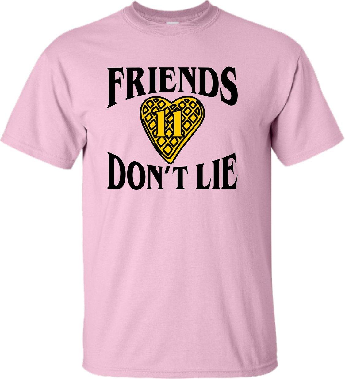 Friends Don T Lie Waffle Heart 11 T Shirt 1627