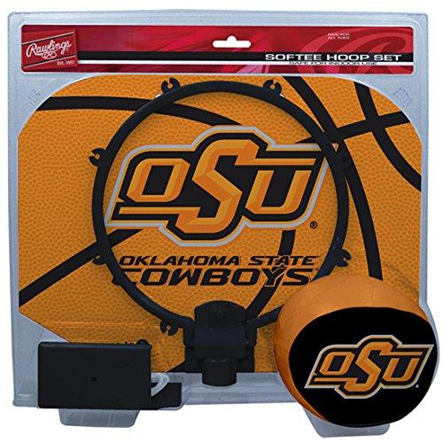 (NCAA Oklahoma State Cowboys Kids Slam Dunk Hoop Set, Orange, Small)
