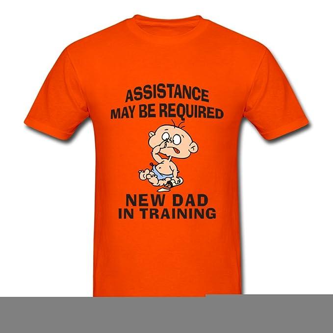 Pirata Zero atractivo hombre Nuevo Dad en la formación Camisetas: Amazon.es: Ropa y accesorios