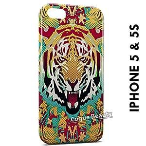 Carcasa Funda iPhone 5/5S Tiger Style 2 Protectora Case Cover