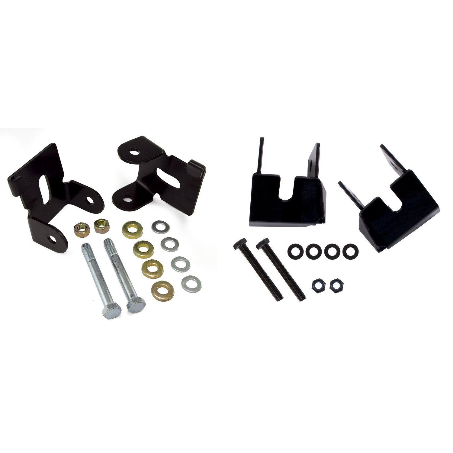 Rugged Ridge 18003.37 Black Control Arm Skid Plate Kit for 07 Up Wrangler JK - 4-Piece