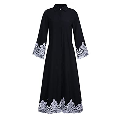 Dreamskull Muslime Muslim Abaya Dubai Kleid Muslimisch Islamisch ...