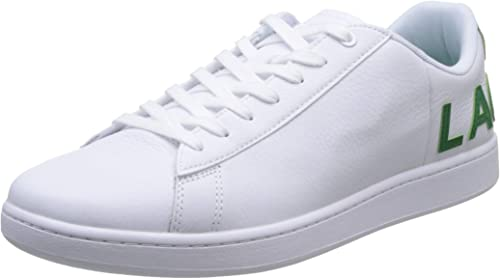 lacoste carnaby evo homme blanche