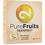 DUAL Pure Fruits Grapefruit| 100% naturale|Da vero succo di pompelmo|Vitamina C arricchita|24 bastoncini|2g per bastoncino|Fino a 52l di succo|Certificato di lab| Senza zucchero & additivi| Made in EU