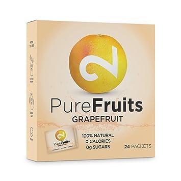 Dual Pure Fruits Grapefruit | Zumo En Polvo De Jugo De Pomelo Real|100%
