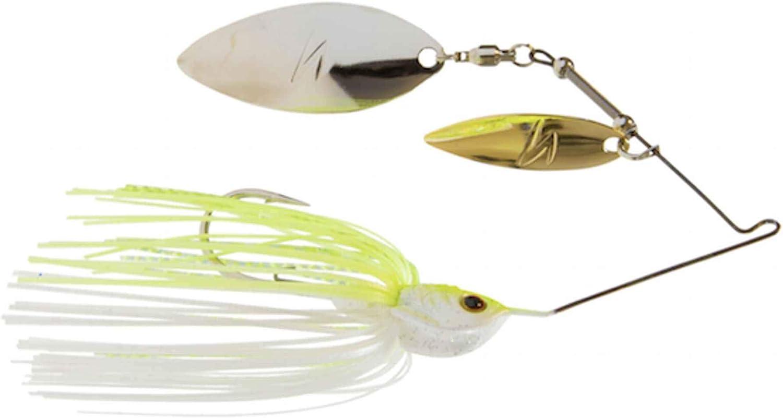 Bass Redfish Zman Fishing Lure Z-Man SlingbladeZ Double Willow Spinnerbait