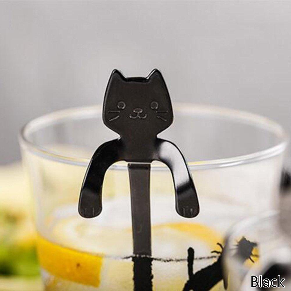New Amazon.com: Provone Little Teaspoons Cute Cat Stainless Steel  YK03