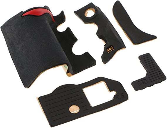 Original 5 Pieces Body Thumb Back Grip Rubber Cover Set For Nikon DF Camera Part