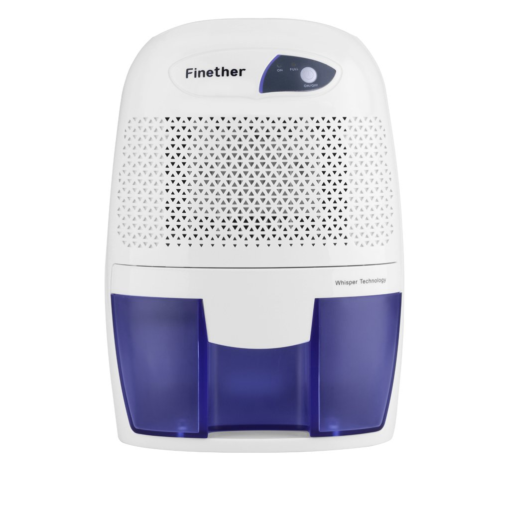 Bathroom dehumidifier uk - Finether 500ml Compact Portable Lightweight Mini Air Dehumidifier For Home Bathroom Kitchen Garage Caravan Bedroom Damp Moisture Mould Amazon Co Uk