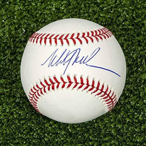 (AJ Sports World Mitch Williams Autographed MLB Official Major League Baseball - Phillies)