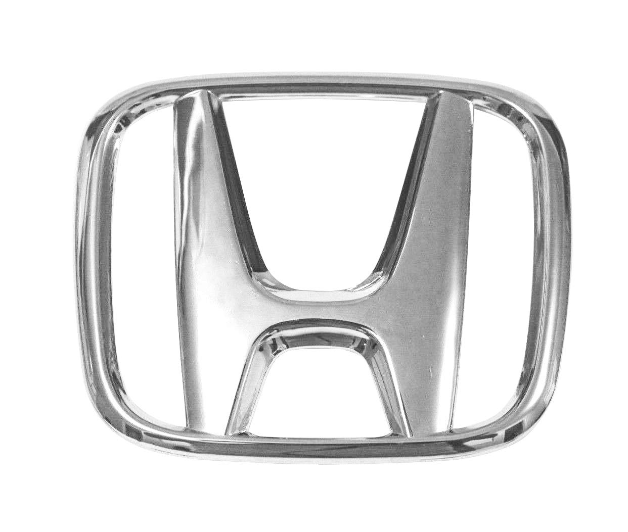 Noa Store Replacement Emblem for Honda Accord Front Grill H Emblem 2008 2009 2010 2011 2012 2013 Decoration Car Size 4.5 X 3.5 Inches