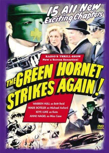 Green Hornet Strikes Again, - Tv Dvd Green The Hornet