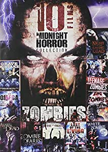 10 Film Midnight Horror Collection ZOMBIES