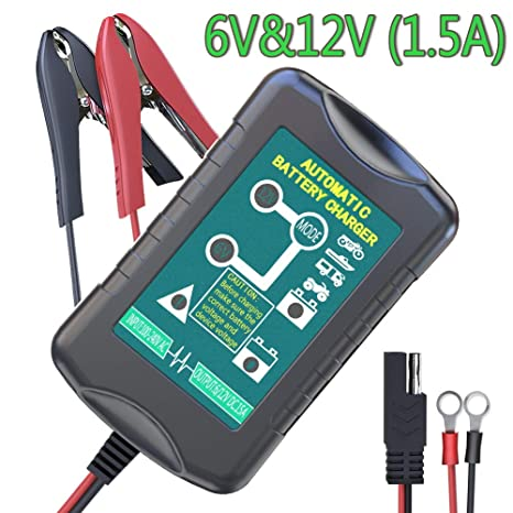 Groovy Amazon Com Lst Trickle Battery Charger Automatic Maintainer 6V 12V Wiring 101 Mecadwellnesstrialsorg