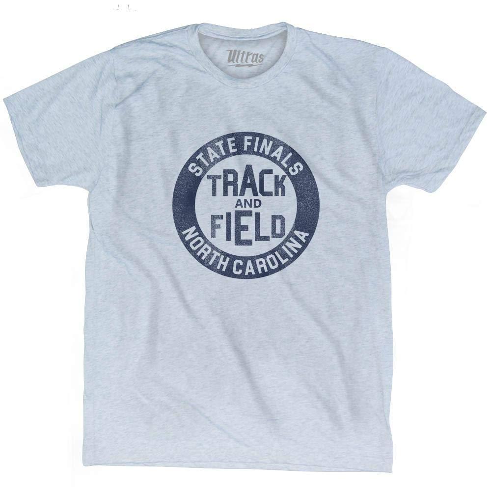 North Carolina State Finals Track /& Field Adult Tri-Blend T-shirt