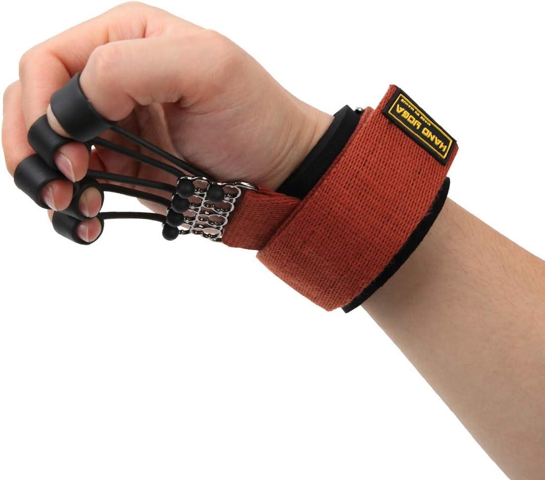 Joagym Finger and Hand Extensor Exerciser Trainer with Resistance Band Stretcher Strengthener