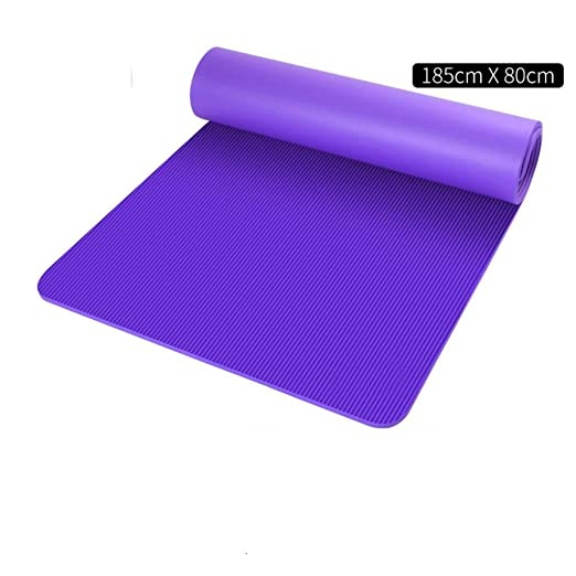 KODH 185cm Estera de Yoga Antideslizante Fácil de ...