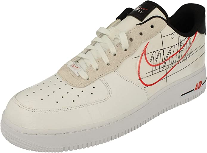 Amazon.com | Nike Air Force 1 07 LV8 Mens Trainers CK9257 ...