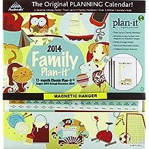 Family 17-Month 2014 Classic Plan-It Calendar
