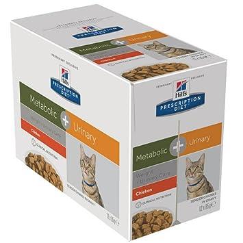 Hills Feline Metabolic + Urinary Comida para Gatos - 85 gr