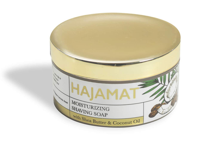 Hajamat Moisturizing Shaving Soap with Shea Butter