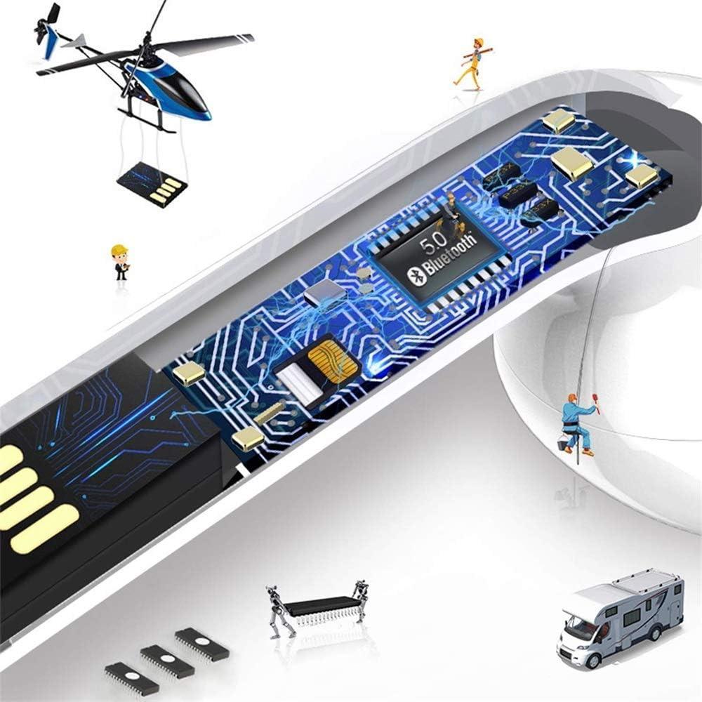 HURONG Bluetooth-kopfh/örer 5.0 IPX5 TWS,kabellose Touch-Kopfh/örer,In-Ear-Rauschunterdr/ückungskopfh/örer,Headset Stereo-Minikopfh/örer Sport Kabellose Kopfh/örer,f/ür Apple Airpods Android iPhone//Samsung