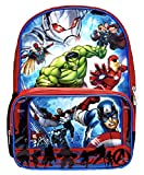 Marvel Avengers Backpack with Clear Pocket Lunch Bag Review