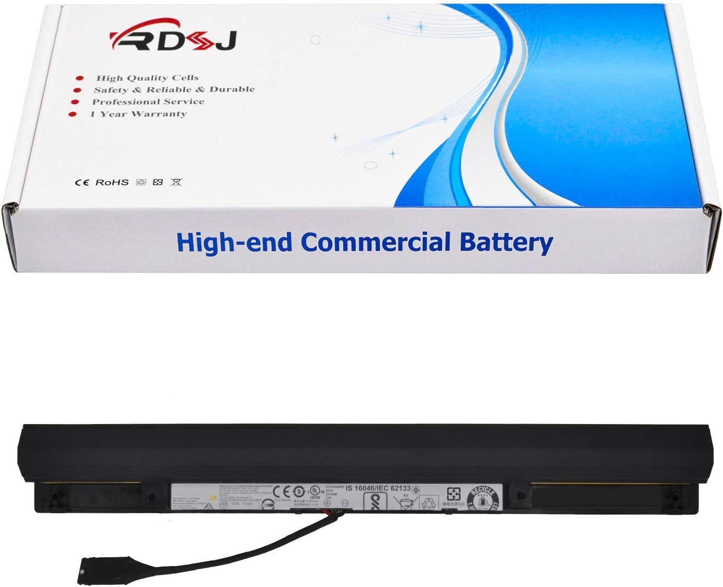 L15L6A01 L15S6A01 Laptop Battery for Lenovo Ideapad 110-15ISK Series Tablet 3INR19/66-2 10.8V 48Wh 4400mAh