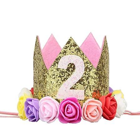 Sunlera Partido de la Flor de la niña del cumpleaños del ...