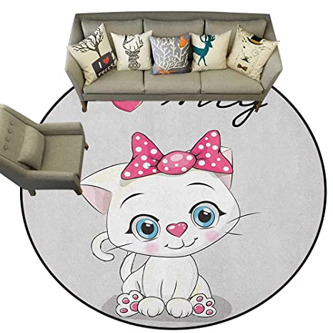 Amazon Com Kitten Rugs For Sale Cute Cartoon Domestic