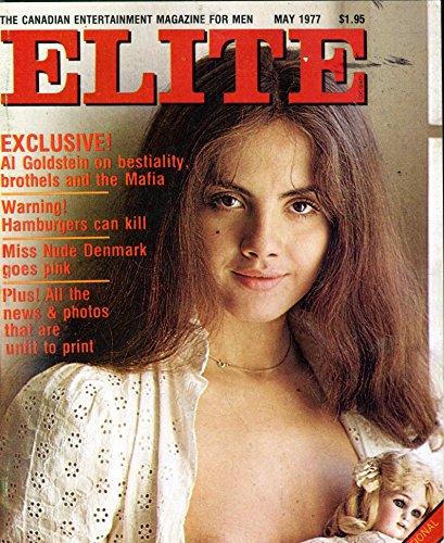Elite Magazine Miss Nude Denmark May 1977