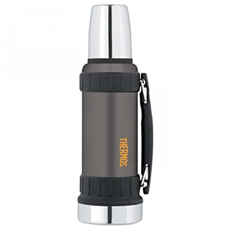 Thermos - Termo (Acero Inoxidable, Grafito, 1,2 L)