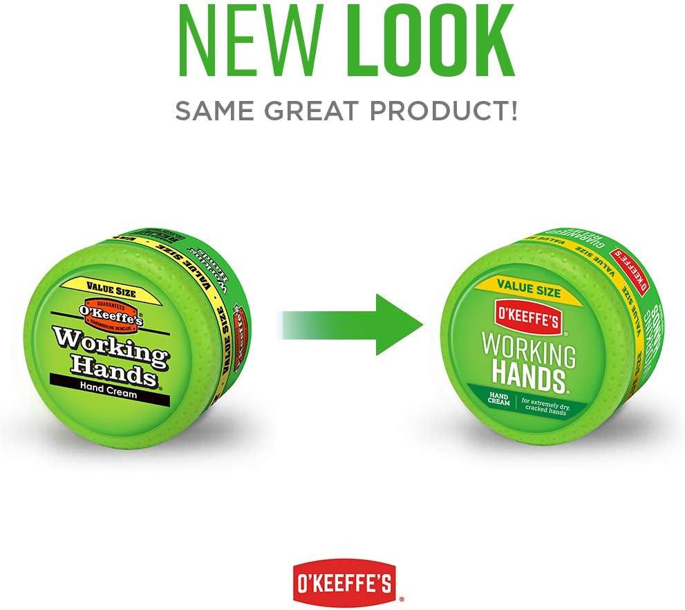 O'Keeffe's Working Hands Hand Cream Value Size, 6.8 oz., Jar - -