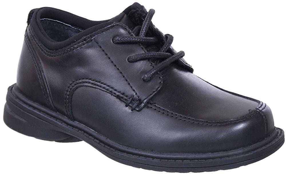 Sperry Kids Captain Lace Up Black Leather
