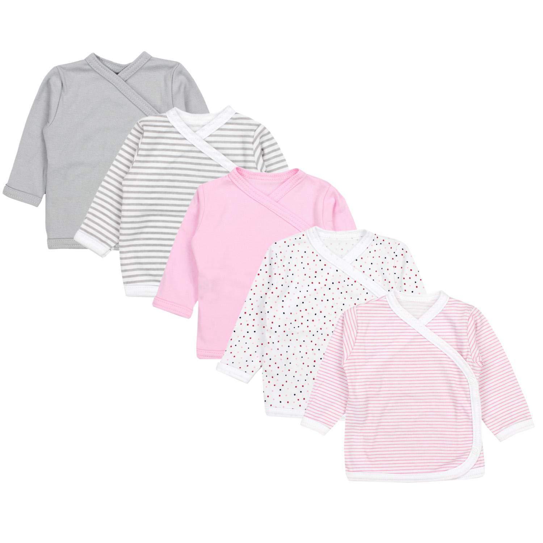 TupTam T-Shirt /à Manches Longues pour B/éb/é Lot de 5