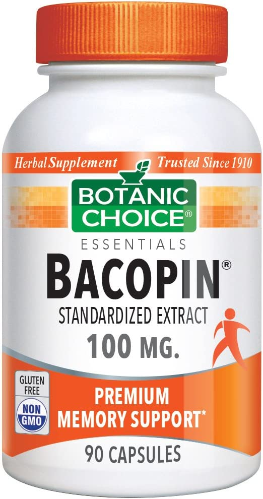 Botanic Choice Bacopin, 90 Capsules Pack of 5