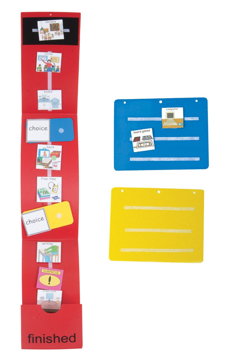 Amazon schedule board kit picture exchange communication amazon schedule board kit picture exchange communication system pecs special needs educational supplies office products buycottarizona