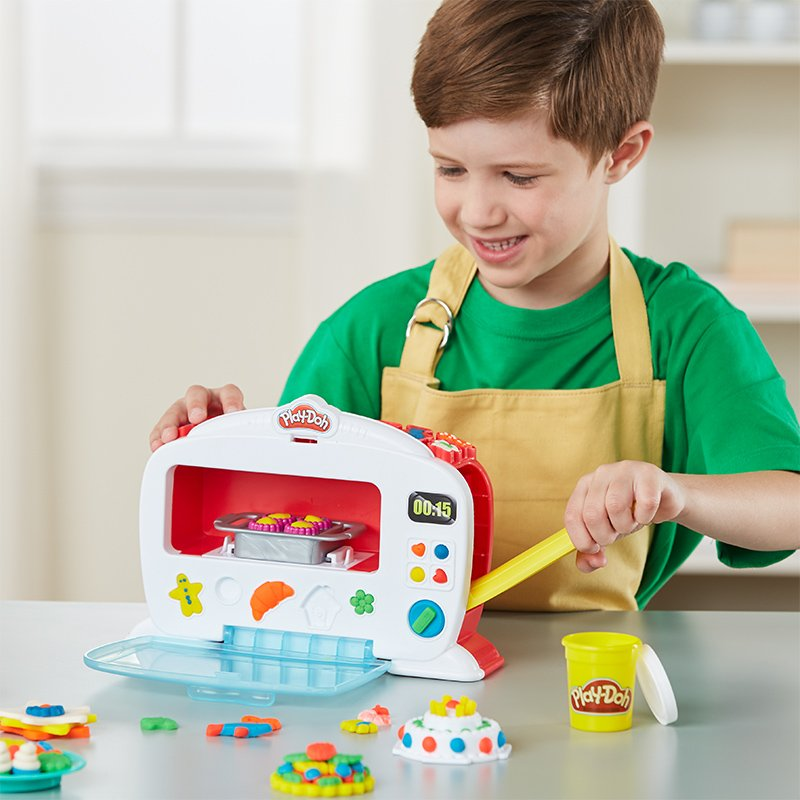 Play Doh Kitchen Creations Magical Oven Toymamashop