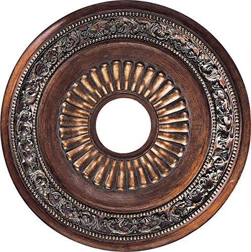 Minka Lavery 1940-126 Ceiling Medallion, Belcaro Walnut (Walnut Belcaro Classic)